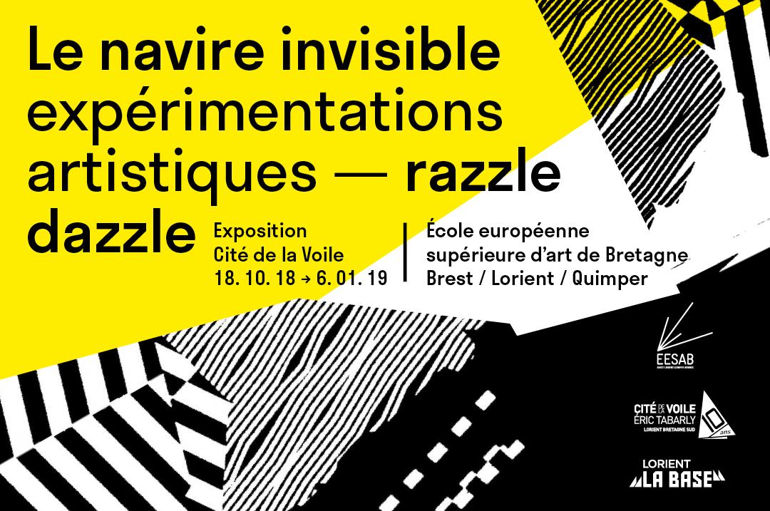 affiche de l'exposition Le navire invisible