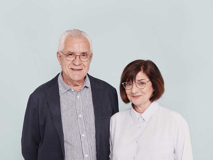 Portrait de Jacques et Evelyne Deret